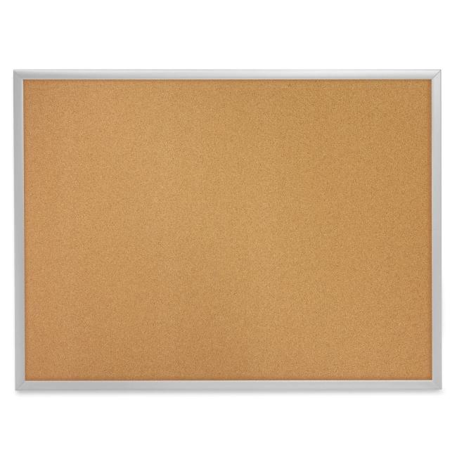 Quartet Aluminium Frame Bulletin Board With Bracket