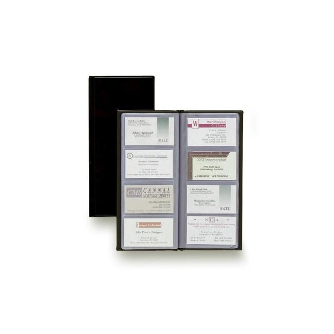 Rolodex business card book 96 capacity black quickship rolodex business card book 96 capacity black colourmoves