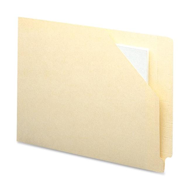 smead end tab file folder jacket 100 box manila quickship com