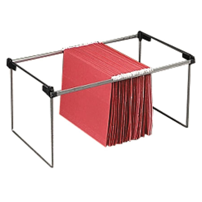 Smead Hanging Folder Frame Steel Silver 2 Box