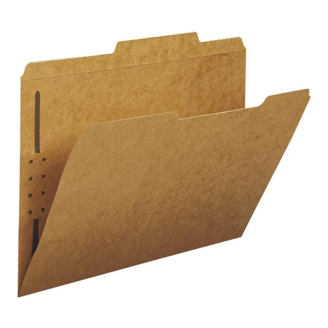 Smead Kraft Fastener Folder