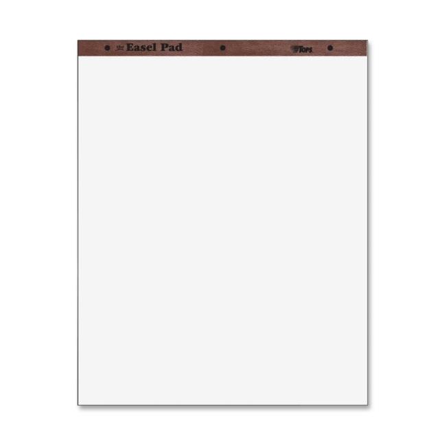 tops plain paper easel pad - 4    carton