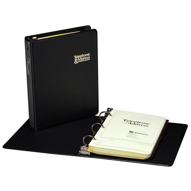 wilson jones loose leaf phone and address book 550 x