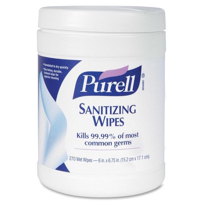 Gojo Purell Sanitizing Wipes - 270 / Each - White