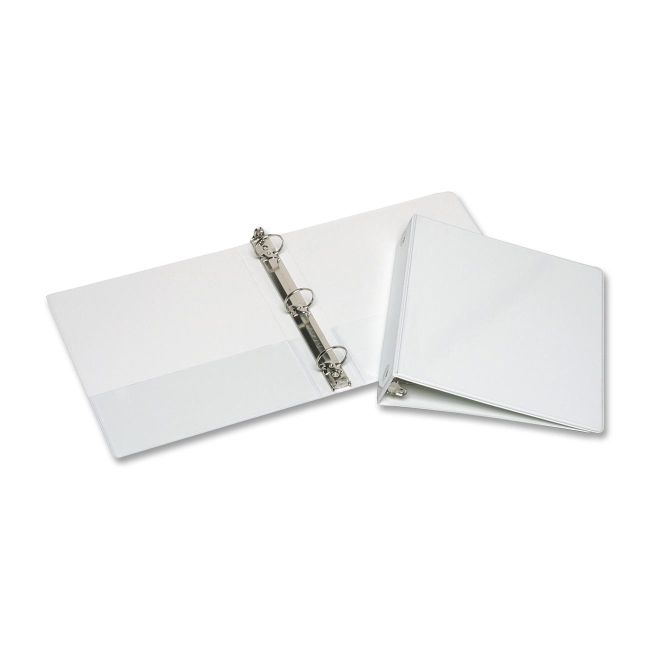 Skilcraft 3-Ring View Binders With Pocket