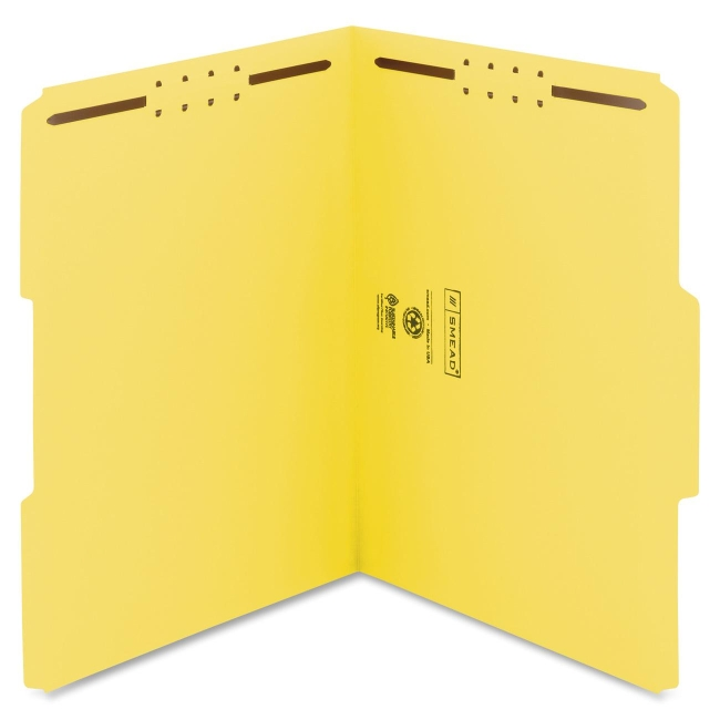 Smead 100% Recycled Fastener File Folder 12941