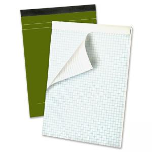 "Ampad Gold Fibre Classic Planning Pad - 80 Sheet - 20 lb - Quad Ruled - 8.50"" x 11.75\"" - 80 / Pad - White Paper"