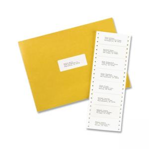 "Avery Address Labels 5000 / Box White  4"" Width x 0.94"" Length"