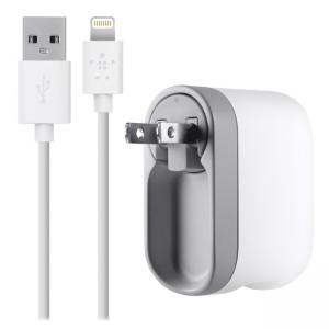 Belkin AC Swivel Lightning Cable iPhone 5 Charger - 5 V DC Output Voltage