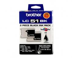 Brother MFC-845CW Brother MFC-845CW Black Ink Cartridge Twin Pack (OEM) 500 Pages