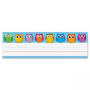 "Carson-Dellosa Owl Nameplates - 9.50"" Width2.88\"" Height Holding Size"
