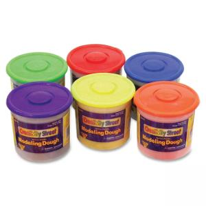 ChenilleKraft Creativity Street Modeling Dough Class Pack - Red, Blue, Yellow, Green, Orange, Purple