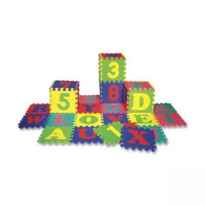 ChenilleKraft WonderFoam Letters and Numbers Puzzle Mat