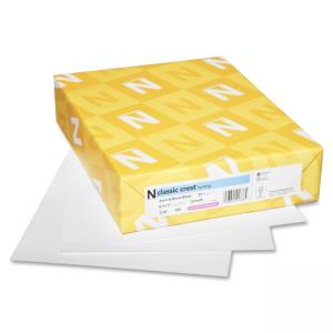 "Neenah Paper Classic Crest Copy & Multipurpose Paper - For Inkjet, Laser Print - 8.50"" x 11\"" - Smooth - 500 / Ream - Natural W"