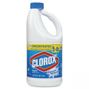 Clorox Regular Liquid 64oz. Concentrated Bleach - Liquid Solution - 64 fl oz (2 quart)Bottle - Clear