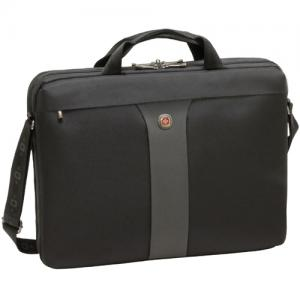 "SwissGear LEGACY WA-7444-14F00 Carrying Case for 17"" Notebook - Black"