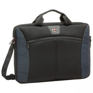 "SwissGear SHERPA Carrying Case for 17.3"" Notebook - Blue"