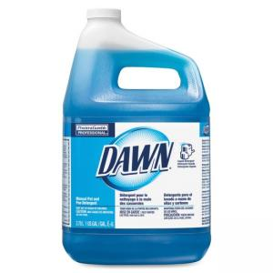 Dawn Dishwashing Liquid - Liquid Solution - 128 fl oz (4 quart) - Original Scent - Blue