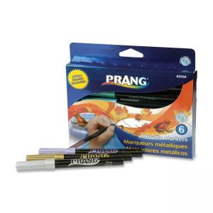 Dixon Prang Metallic 6-color Art Markers 6 / Set