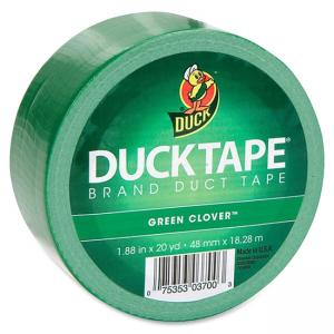 "Duck Colored Duct Tape - 1.88"" Width x 60 ft Length - 1 Roll - Green"