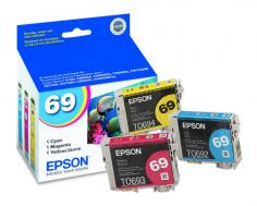 Epson Stylus NX415 Epson Stylus NX415 3-Color Ink Combo Pack (OEM) (Prints 420 Pages)