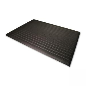"Genuine Joe Air Step Anti-Fatigue Mat - Gray  36"" Length x 24"" Width x 375 mil Thickness"
