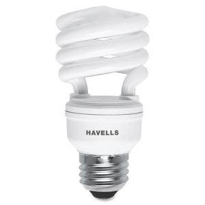Havells 13W Compact Fluorescent Lamp - Spiral - Soft White - 13 W