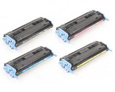 HP Color LaserJet 2605dtn HP Color LaserJet 2605dtn - Toner Cartridges (Black, Cyan, Magenta, Yellow)