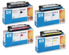 HP Color LaserJet 3000n HP Color LaserJet 3000n - Toner Cartridges (Black, Cyan, Magenta, Yellow)