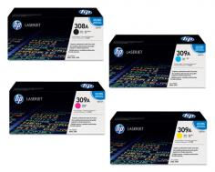 HP Color LaserJet 3500 HP Color LaserJet 3500 - Toner Cartridges (Black, Cyan, Magenta, Yellow)