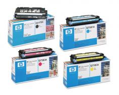 HP Color LaserJet 3800 HP Color LaserJet 3800 - Toner Cartridges (Black, Cyan, Magenta, Yellow)