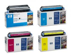 HP Color LaserJet 5550 HP Color LaserJet 5550 - Toner Cartridges (Black, Cyan, Magenta, Yellow)
