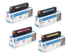 HP Color LaserJet CP2025x HP Color LaserJet CP2025x - Toner Cartridges (Black, Cyan, Magenta, Yellow)