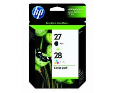 HP DeskJet 3740 HP DeskJet 3740 Black and Tri-Color Ink Cartridge Combo Pack (OEM)