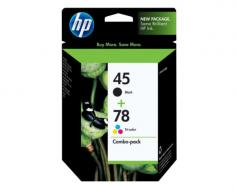 HP DeskJet 970cxi HP DeskJet 970cxi Black and Tri-Color Ink Cartridge Combo Pack (OEM)