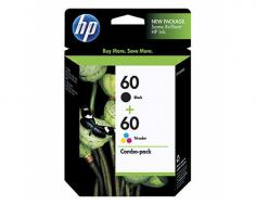 HP DeskJet D2530 HP DeskJet D2530 Black and Tri-Color Ink Cartridge Combo Pack (OEM)