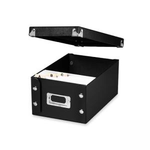 IdeaStream Snap-N-Store Card Storage Box - Black