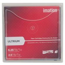 Imation Ultrium LTO 6 Cartridge with Case - LTO-6 - 2.50 TB (Native) / 6.25 TB (Compressed) - 2775.59 ft Tape Length