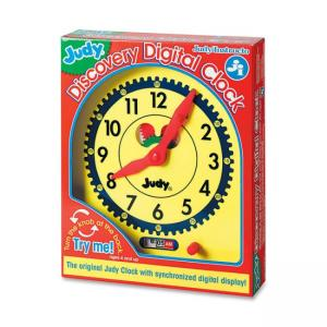 Judy Instructo Judy Digital Clock Clock - Theme/Subject: Learning - Skill Learning: Time, Mathematics - 1 Pieces