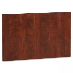 "Lorell Accent Series Cherry Laminate Modesty Panel - 24"" Depth x 19\"" Height x 750 mil ThicknessMDF, Metal, Laminate - Cherry"
