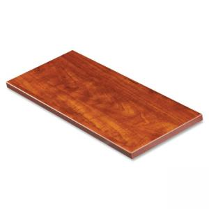 "Lorell Border Panel System - 42"" Width x 1\"" Depth x 12\"" Height - Particleboard, Melamine - Cherry"