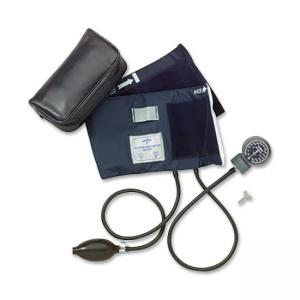 Medline Adult Handheld Aneroid Sphygmomanometer - Blue