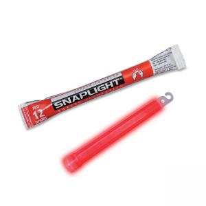 "LC Industries Miller\s Creek 6"" Emergency Red Snaplight - 6\"" Length - 12 Hour Glow Time - Red"