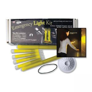 LC Industries Miller\s Creek Office Emergency Light Kit - 12 Hour Glow Time - Yellow