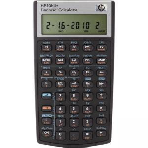 HP 10bII+ Business/Financial Calculator
