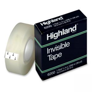 3M Highland Invisible Tape- Clear