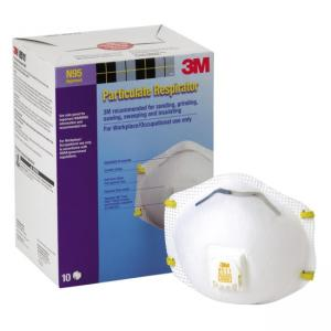 3M Cool Flow Exhalation Particulate Respirator White