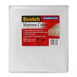 3M King/Queen Mattress Cover - Clear