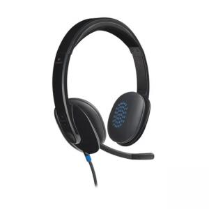 Logitech USB Headset H540 - Stereo - USB - Wired - Over-the-head - Binaural - Semi-open