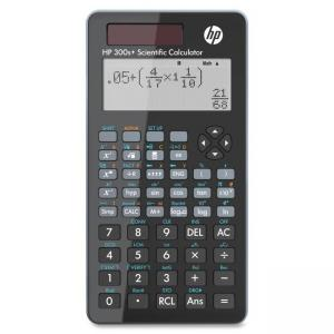 "Compaq/HP 300s Plus Scientific Calculator - 315 Functions - LCD - Solar, Battery Powered - 0.9"" x 3.3"" x 5.5"" - Black"